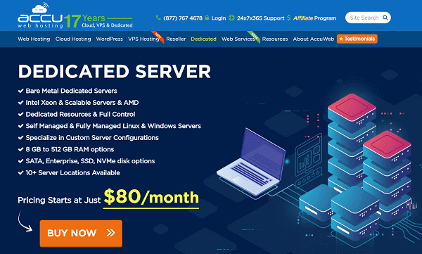 AccuWeb-hosting
