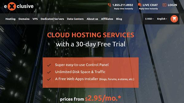 Exclusive-hosting
